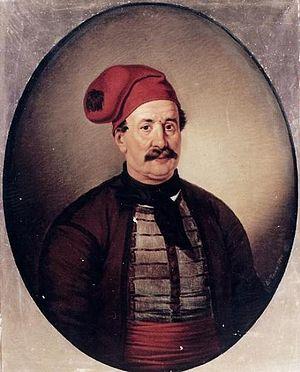 Dimitrios Papanikolis - Portrait by Dionysios Tsokos