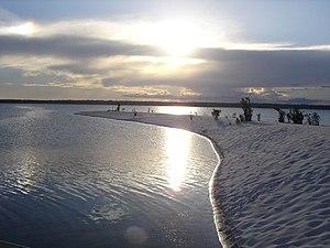 Pará River - View of the Pará River in Brazil.