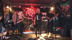 Paranoya Live in Düsseldorf Ak 47 26.06.2011