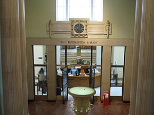 Brotherton Library - Entrance from the Parkinson Building