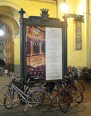 Parma Opera e Biciclette