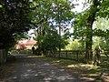 Part of Hall Road near the parish church (geograph 2401355).jpg