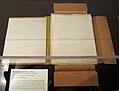 """Partial Handwritten Manuscript of """"The Tomb of Tutankhamen"""", Vol. I MET manuscript.jpg"""