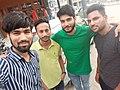 Participants of photo walk in Patiala - Selfie - 15 September 2019.jpg