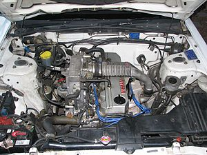 Nissan RB engine - RB20ET engine in an R31 Passage Wagon
