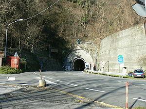Passo del Turchino - Old road tunnel