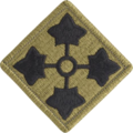Patch of the United States Army 4th Infantry Division (Scorpion W2).png