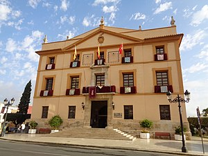 Paterna - View of the City Council.