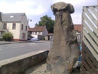 Manaw Gododdin - stone of Mannan