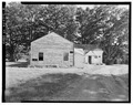 Patrick House, Spa State Park, .75 mile southeast of Gideon Putnam Hotel, Saratoga Springs, Saratoga County, NY HABS NY,46-SASPR,2-8.tif