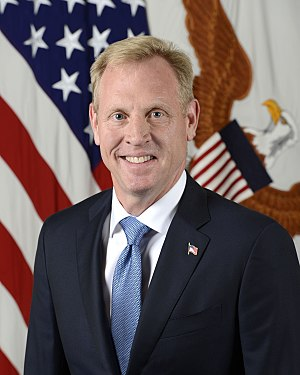 United States Deputy Secretary of Defense - Image: Patrick M. Shanahan official portrait