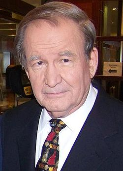 File photo of Pat Buchanan, 2008. Image: Bbsrock.