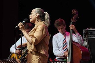 Patti Austin - Patti Austin and Moscow Jazz Orchestra at the Sochi Jazz Festival, Russia, August 2017
