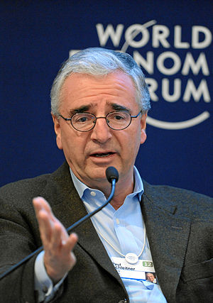 Paul Achleitner - Achleitner at the World Economic Forum annual meeting in 2012