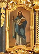 Apostle Paul with a sword in his hand