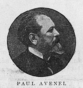 Paul Avenel - Portrait by Pierre Petit