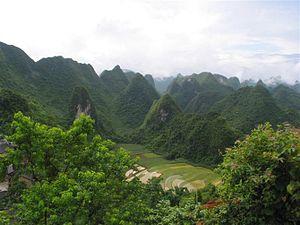 Fengshan County - Peak-cluster depressions