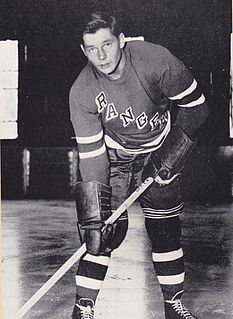 Pentti Lund Finnish Canadian ice hockey player