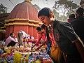 People buying things in Manikut Utsav.jpg