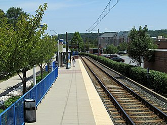 Pepper Road station - Pepper Road station in 2014
