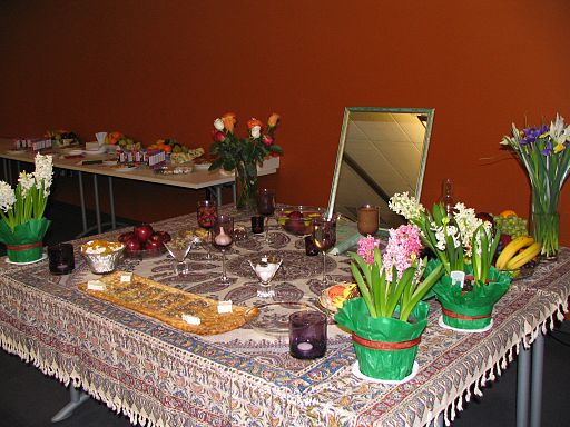Persian New Year celebration — Haft-Sin