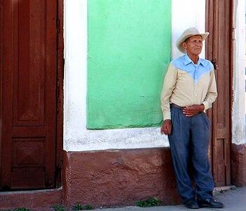 Persona de los andes venezolanos