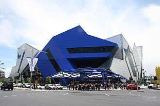 ARM Architecture (Ashton Raggatt McDougall) - Image: Perth Arena November 2012