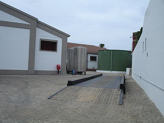 Weight - A weighbridge, used for weighing trucks