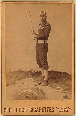 Pete Browning - Image: Pete browning cigarette card