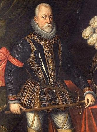 Siege of Geertruidenberg (1593) - Count of Mansfeld by Antonis Mor