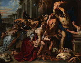 Le Massacre des Innocents de Pierre Paul Rubens, 1611–12