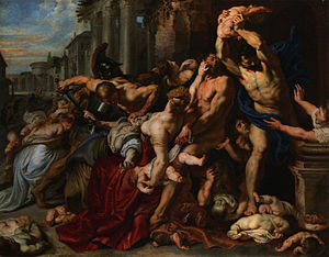 Massacre of the Innocents (Rubens) - Peter Paul Rubens. Massacre of the Innocents, 1611–12 (Art Gallery of Ontario), lost and later rediscovered.