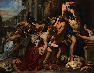 Le Massacre des Innocents de Rubens