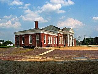 Union Station (Petersburg) former railway station in Petersburg, Virginia, United States