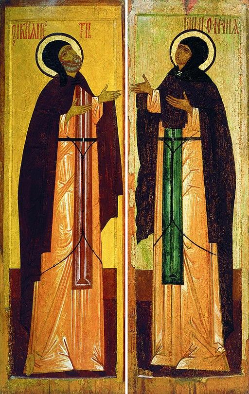 Petr & Fevronia (16 c., Rublev museum)