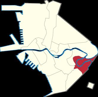 Santa Ana, Manila - Location of Sta. Ana in Manila