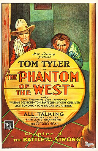 The Phantom of the West - Film poster
