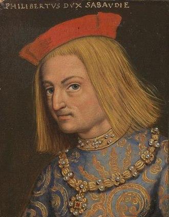 Philibert II, Duke of Savoy - Philibert II of Savoy by Anton Boys