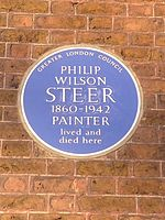 Philip Wilson Steer blue plaque.jpg