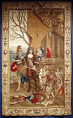 Louis XIV Leaving for War