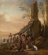 Philips Wouwerman - The Rider's Halting Place.jpg