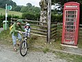 Phone box, just within SN8653 - geograph.org.uk - 505779.jpg