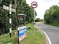 Phone box and signage, Roydon Hamlet - geograph.org.uk - 1444708.jpg