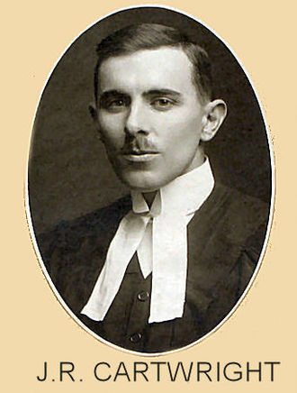 John Robert Cartwright - Graduation photo from Osgoode Law School, 1920