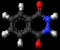 Phthalic hydrazide molecule ball.png