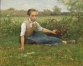 Picking Flowers (Hugo Salmson) - Nationalmuseum - 19294.tif