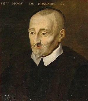 Portrait of Pierre de Ronsard, oil on canvas, ...
