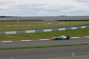 Pietro Fantin - Fantin during Race 1 of the 2014 Formula Renault 3.5 Series season at Moscow Raceway.