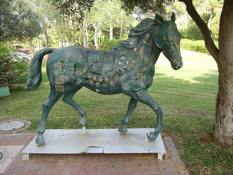 סוס דיגיטלי בכפר שמריהו