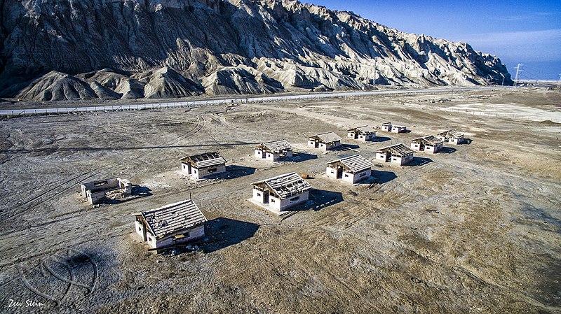 מחנה העובדים בים המלח